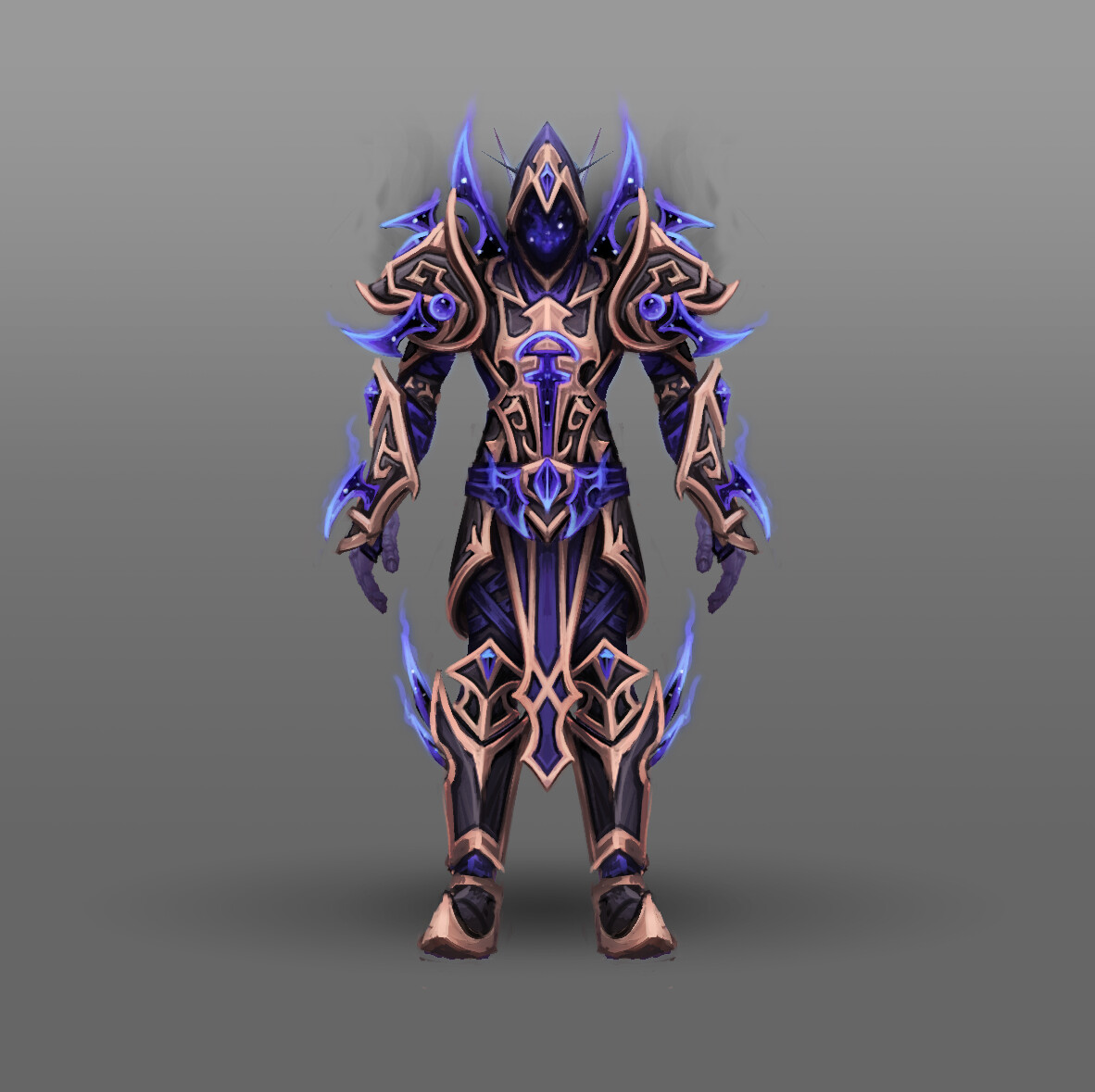 Artstation Fan Art World Of Warcraft Racial Class Armor Design Voidelf Arthur Lorenz Really finishes the heritage armor's look. of warcraft racial class armor design