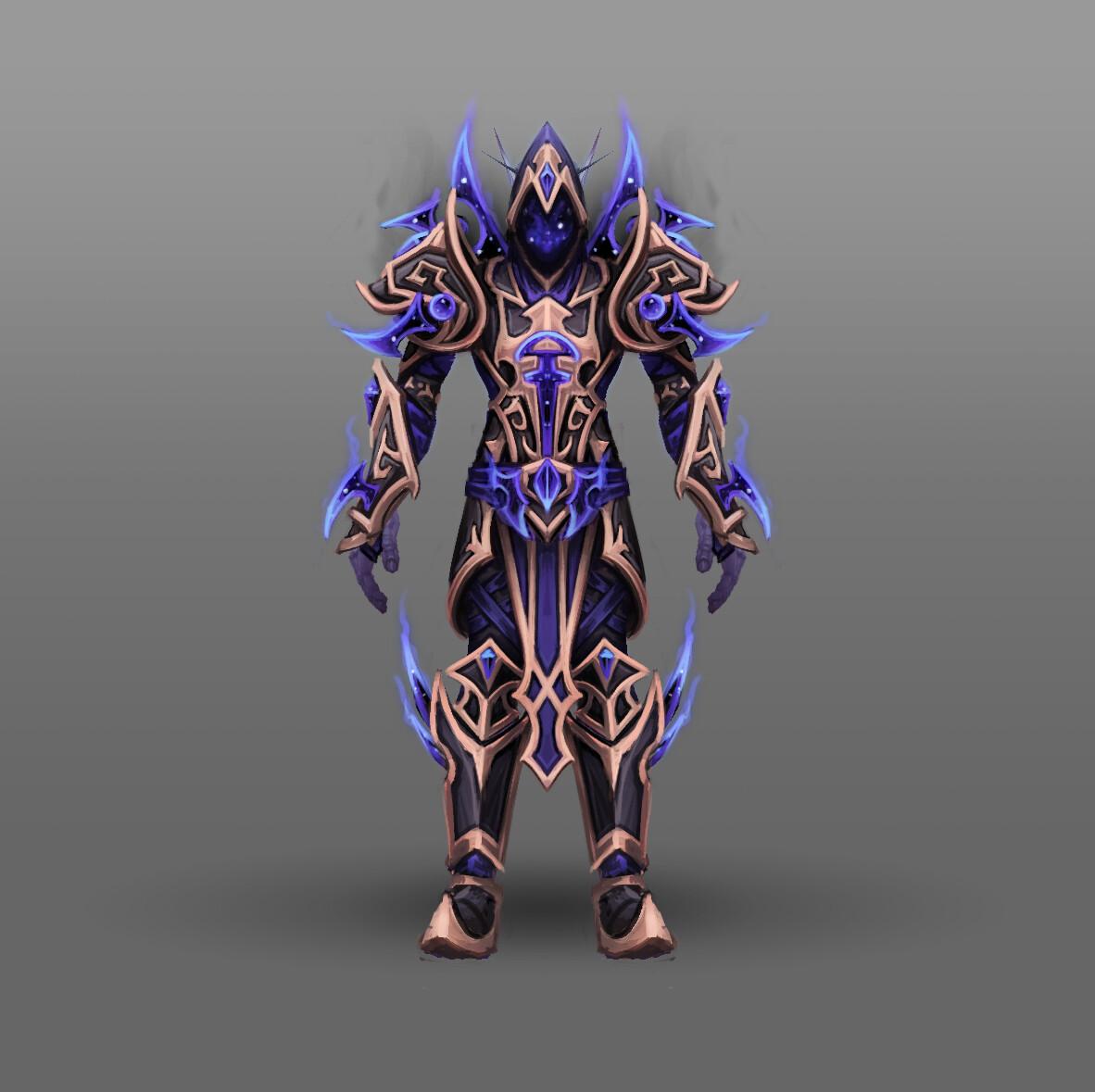 Artstation Fan Art World Of Warcraft Racial Class Armor Design Voidelf Arthur Lorenz #worldofwarcraft #blizzard #hearthstone #wow #warcraft #blizzardcs #gaming. of warcraft racial class armor design