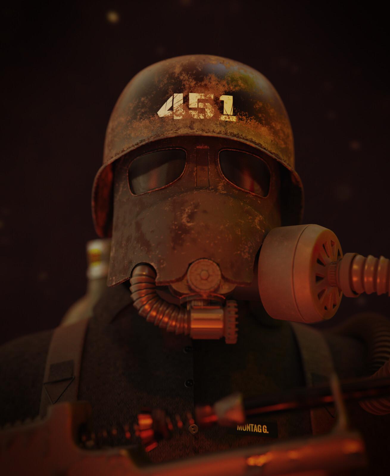 Fahrenheit 451 - Guy Montag