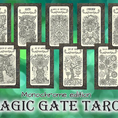 Vera petruk samiramay magic gate tarot1