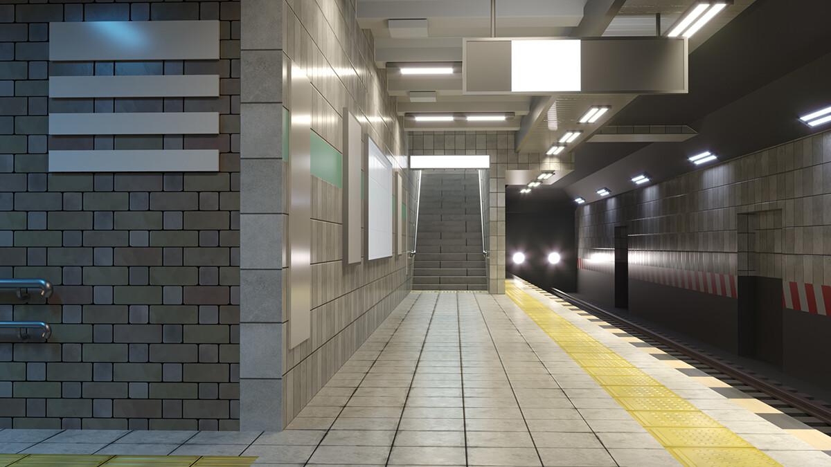 Surendra rajawat subway render