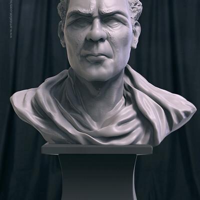 Surajit sen sir v01 digital sculpture surajitsen jul2019