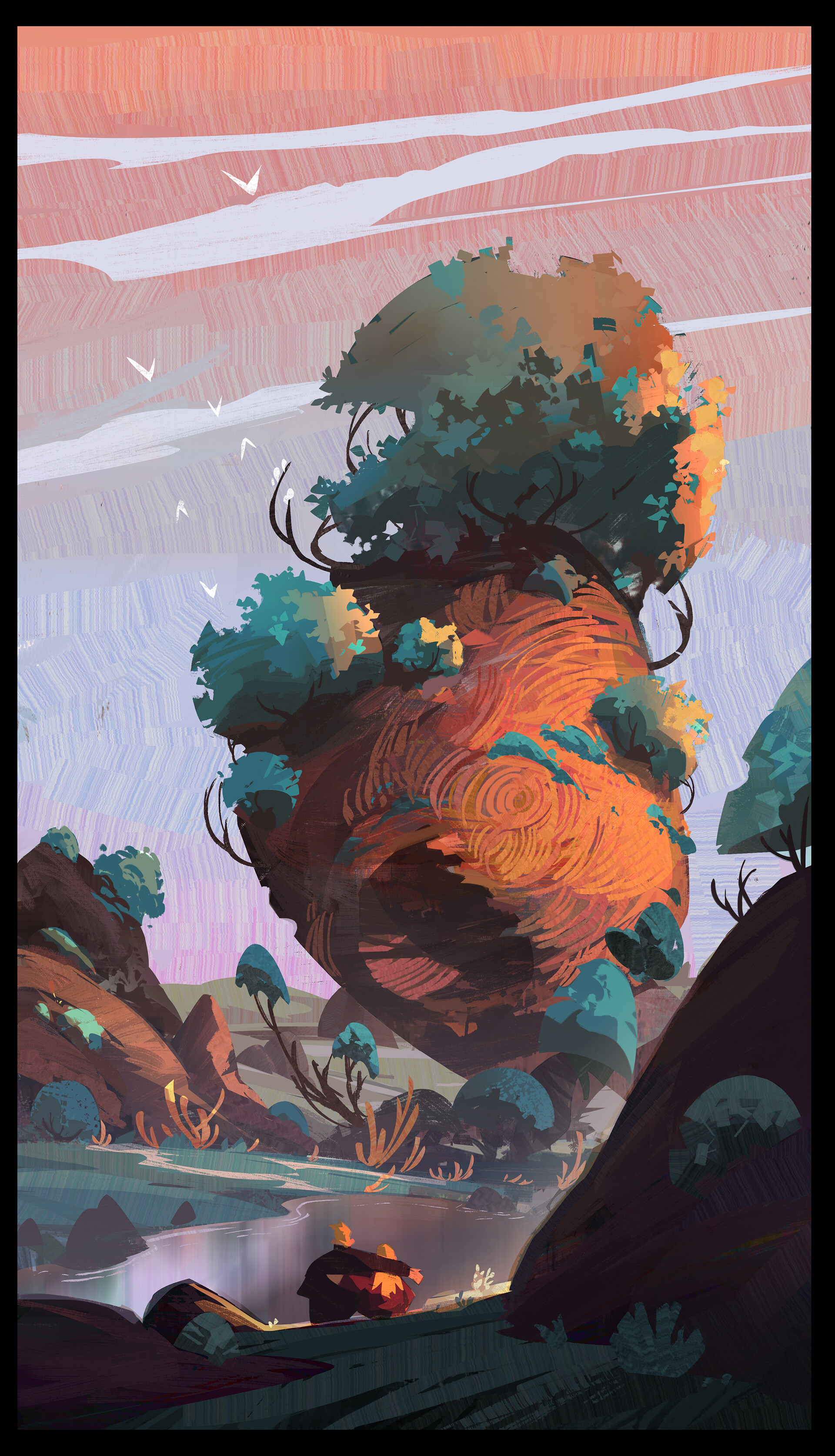 Hue Teo - Color Sketching Tutorial