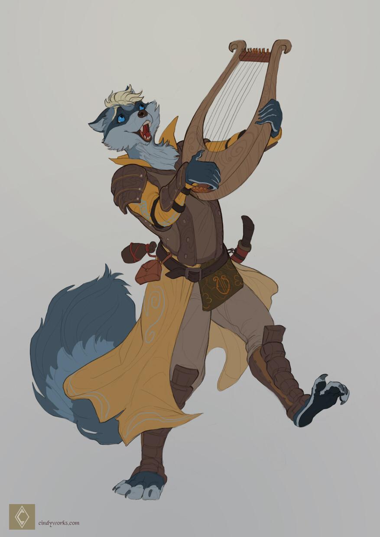 Cindy avelino spunkyrakune character sketch commission