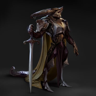 John thacker lizard knight w