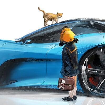 J c park my cat