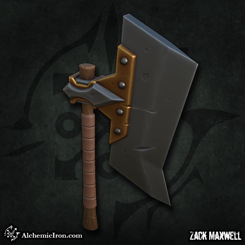 Zack maxwell hatchet