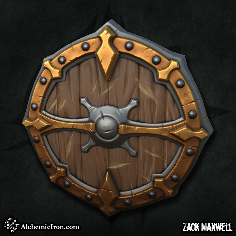 Zack maxwell shield