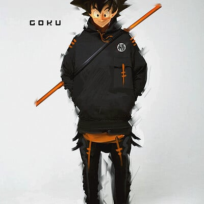Benedick bana fan art goku2