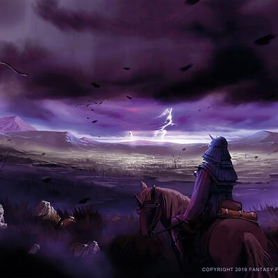 Nele diel stormy steppe