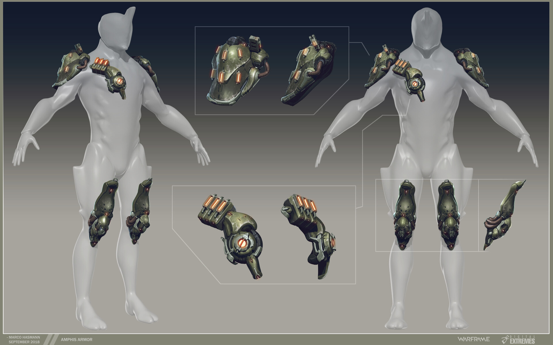Marco hasmann mh amphis armor