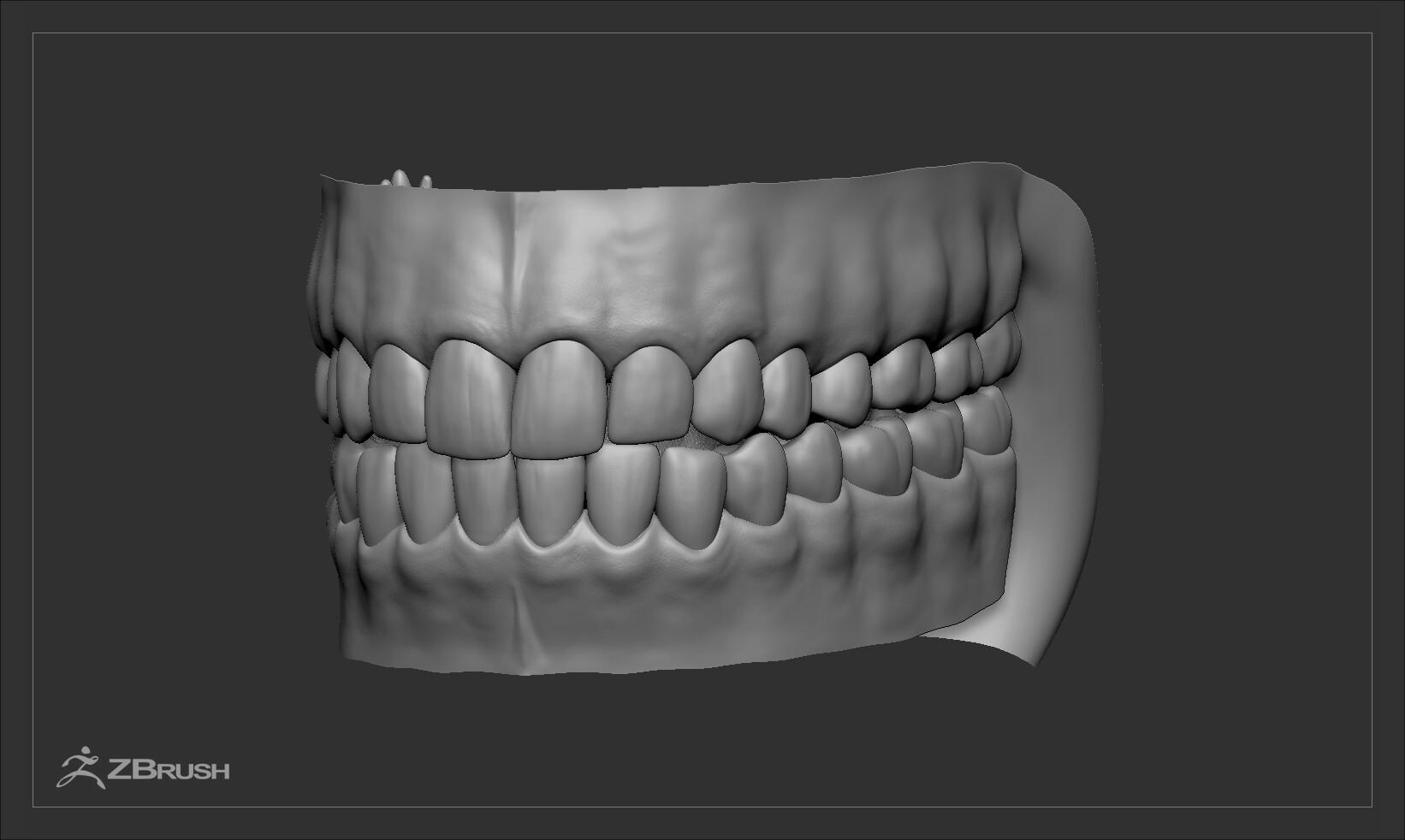 Alex lashko teethtongueset gen2 by alexlashko zbrush 01