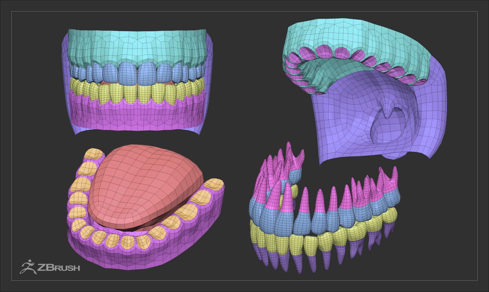 Alex lashko teethtongueset gen2 by alexlashko zbrush 07