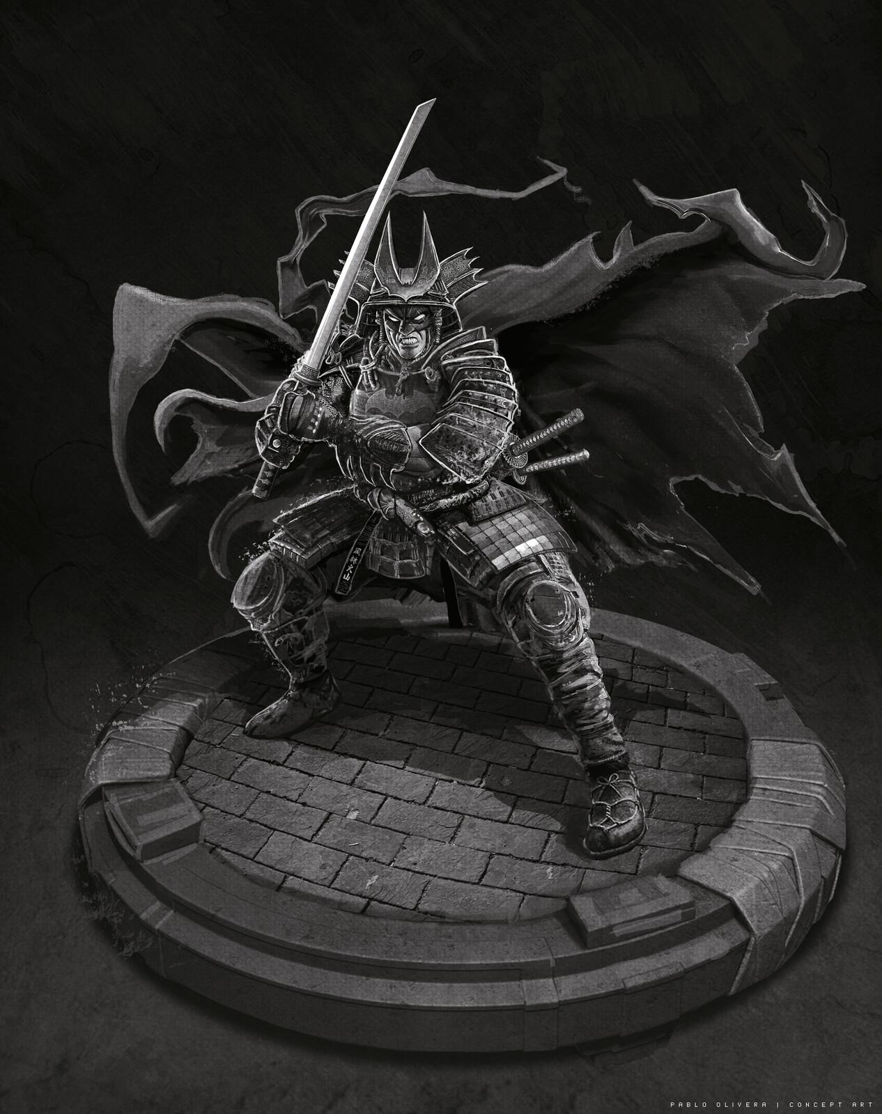 Batman Samurai (WIP)
