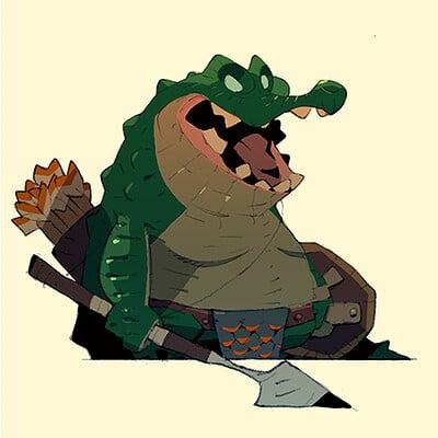 Satoshi matsuura 2019 07 08 crocodile warrior s