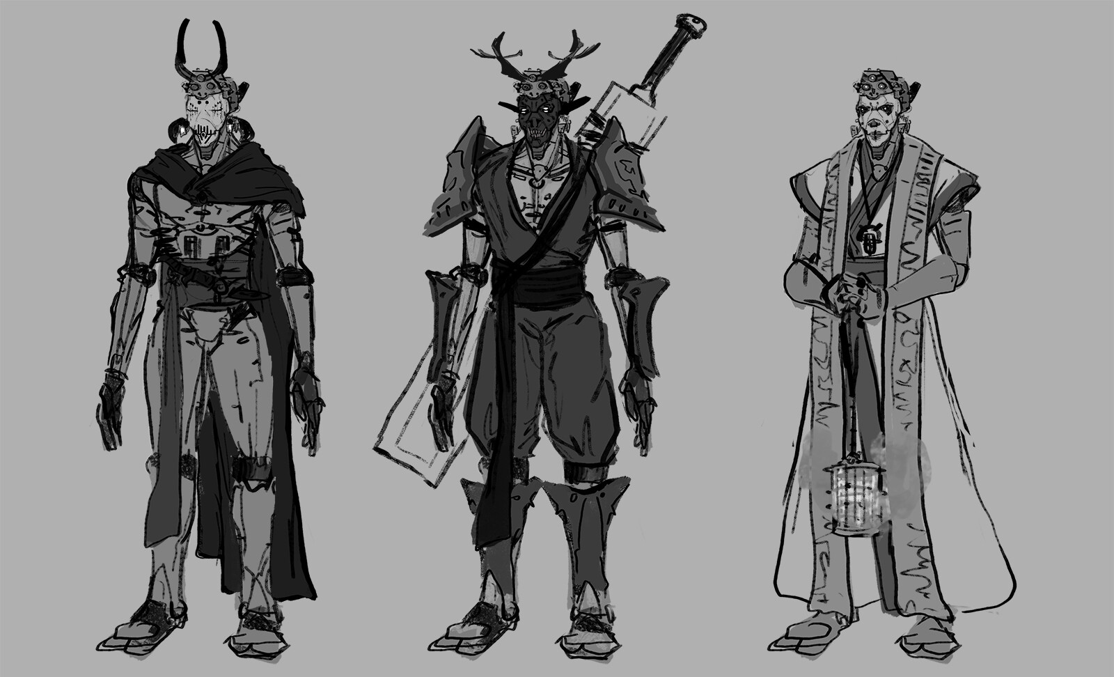 ArtStation - Kenshi fan art- original concepts , Brandon Barnes