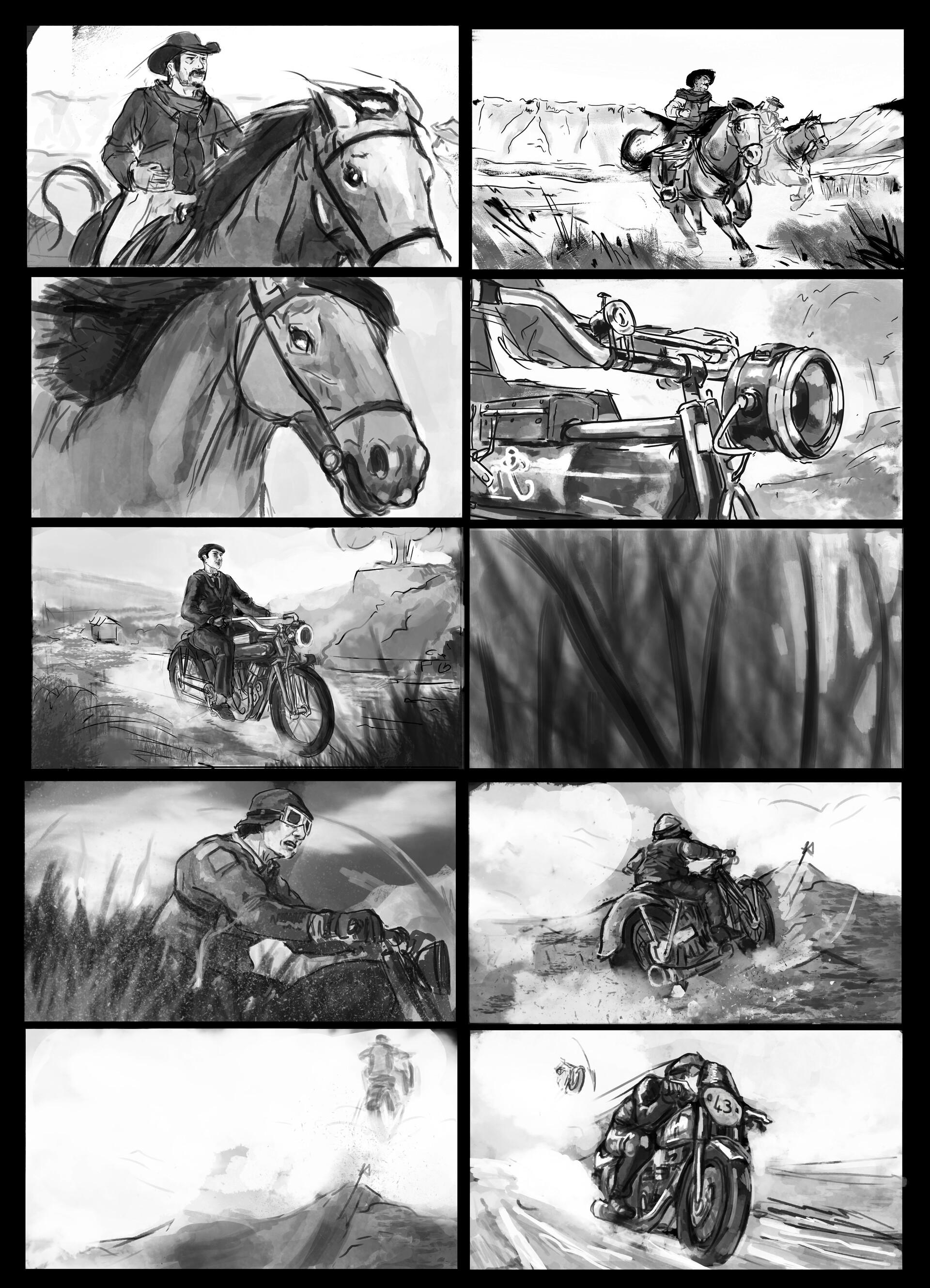 Tom p mackintosh storyboardcowboy