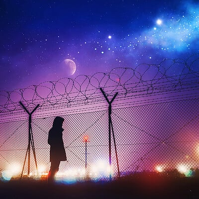 Gene raz von edler playing with the lights by ellysiumn as version