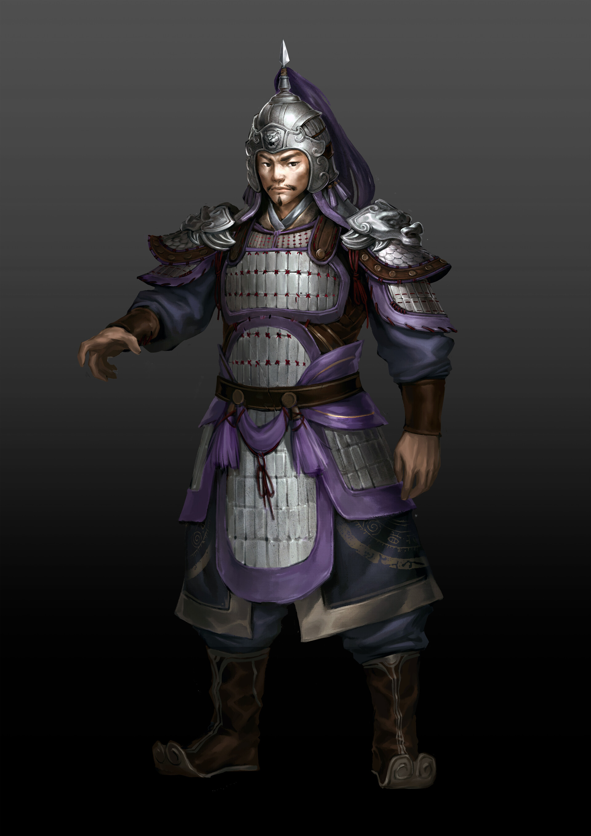 """ArtStation - Yu Jin,Created for the MOD of """"Total War"""