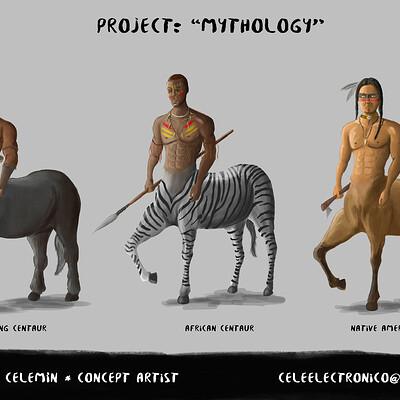 Guillermo celemin mythology