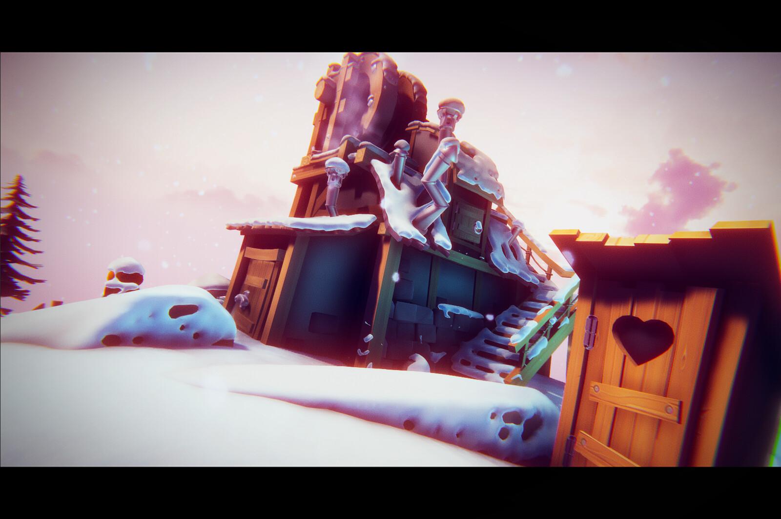 Winter Isles :L'évasion des plus jeunes / VR