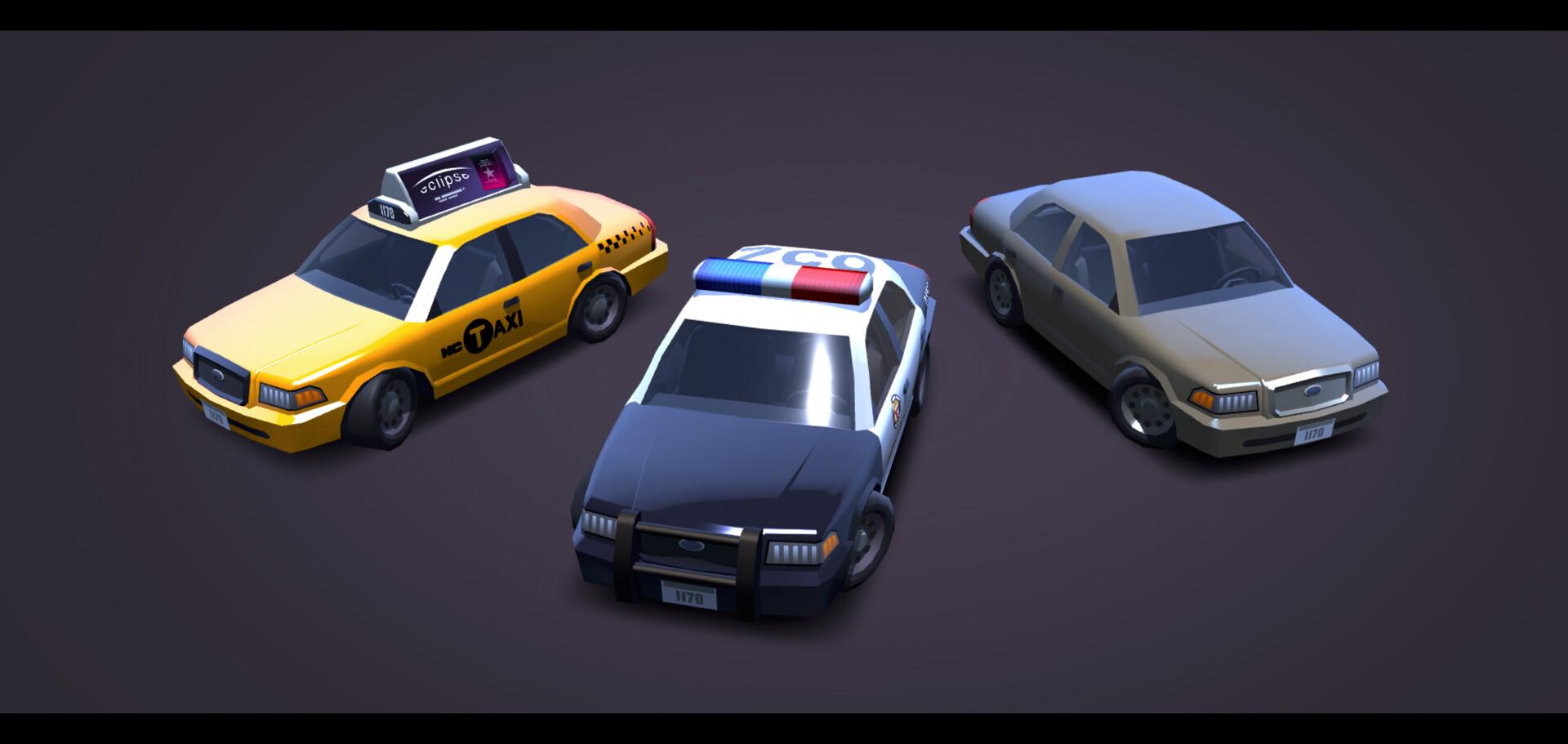 Denis Dilbaryan - Police Car Model