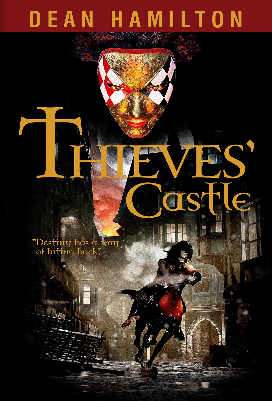 Thieves' Castle Book Cover Illustration