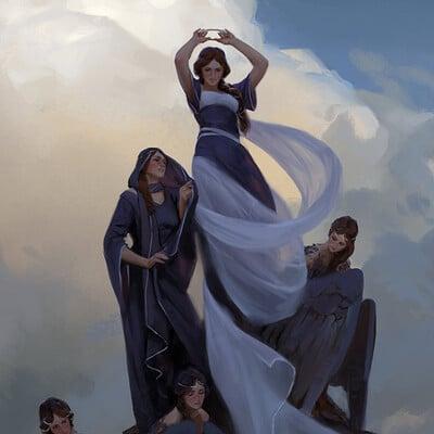 Axel sauerwald damen im wind wide