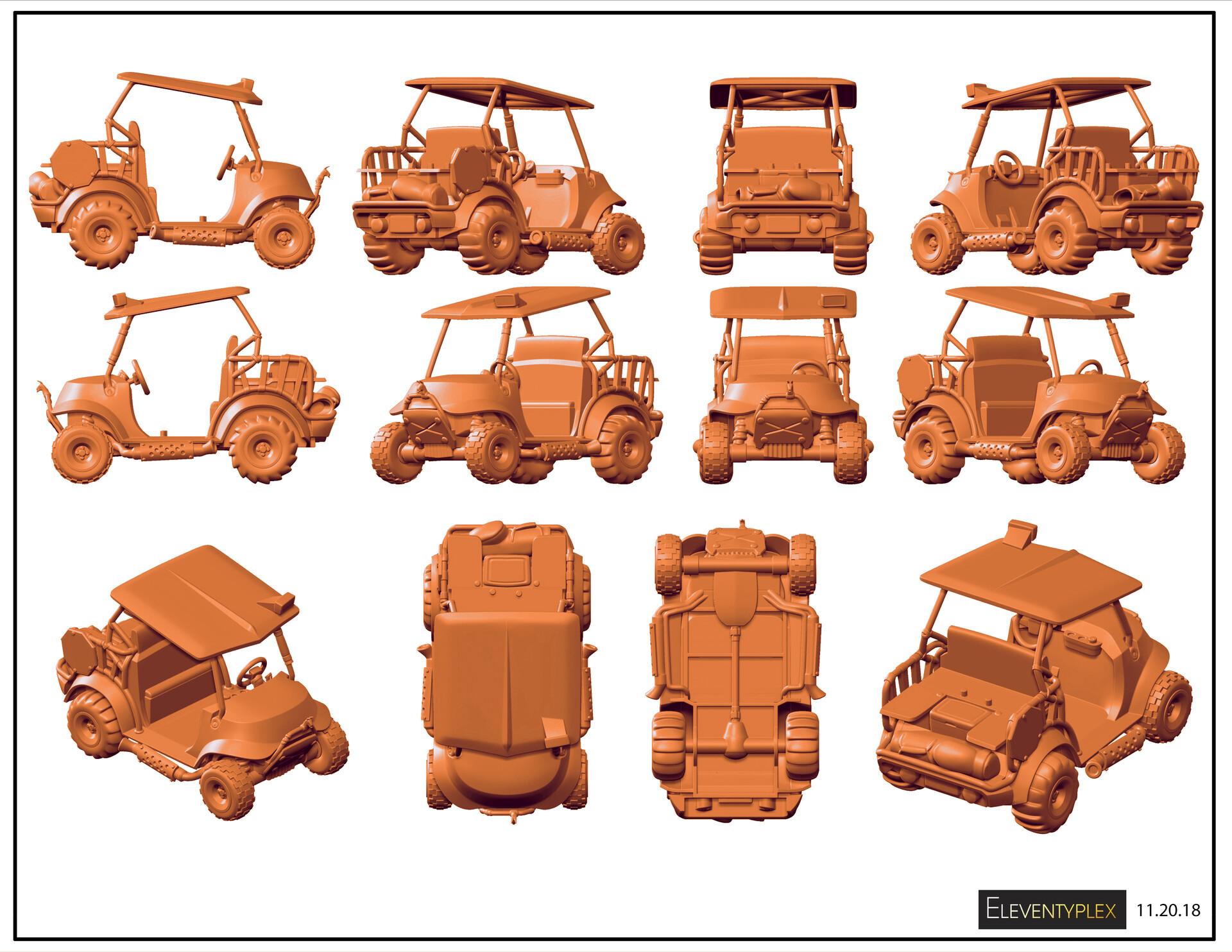 Don England Fortnite Mini Figures Vehicles 1