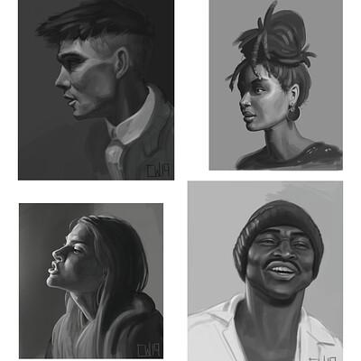 Connor widdows portraits