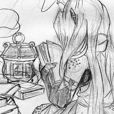 Detonya kan solitude sketch