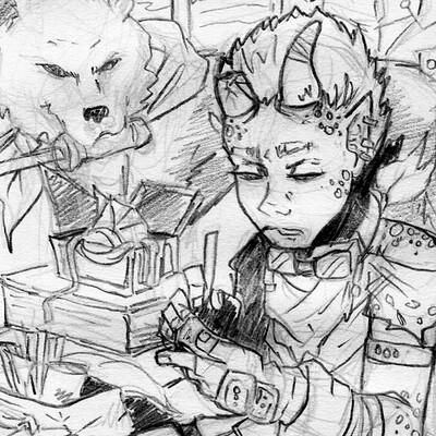 Detonya kan creator sketch