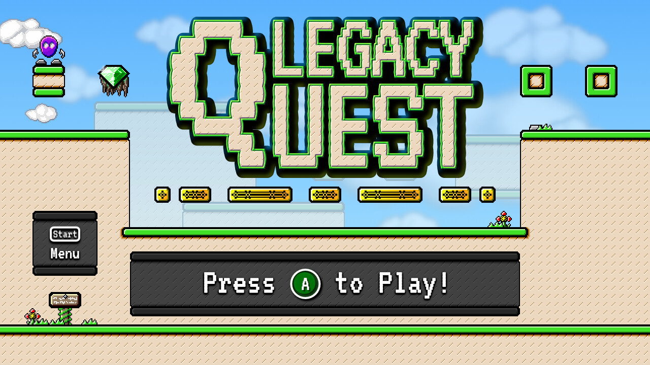 Legacy Quest Menu (Gamepad) © 2018 Noble Valerian