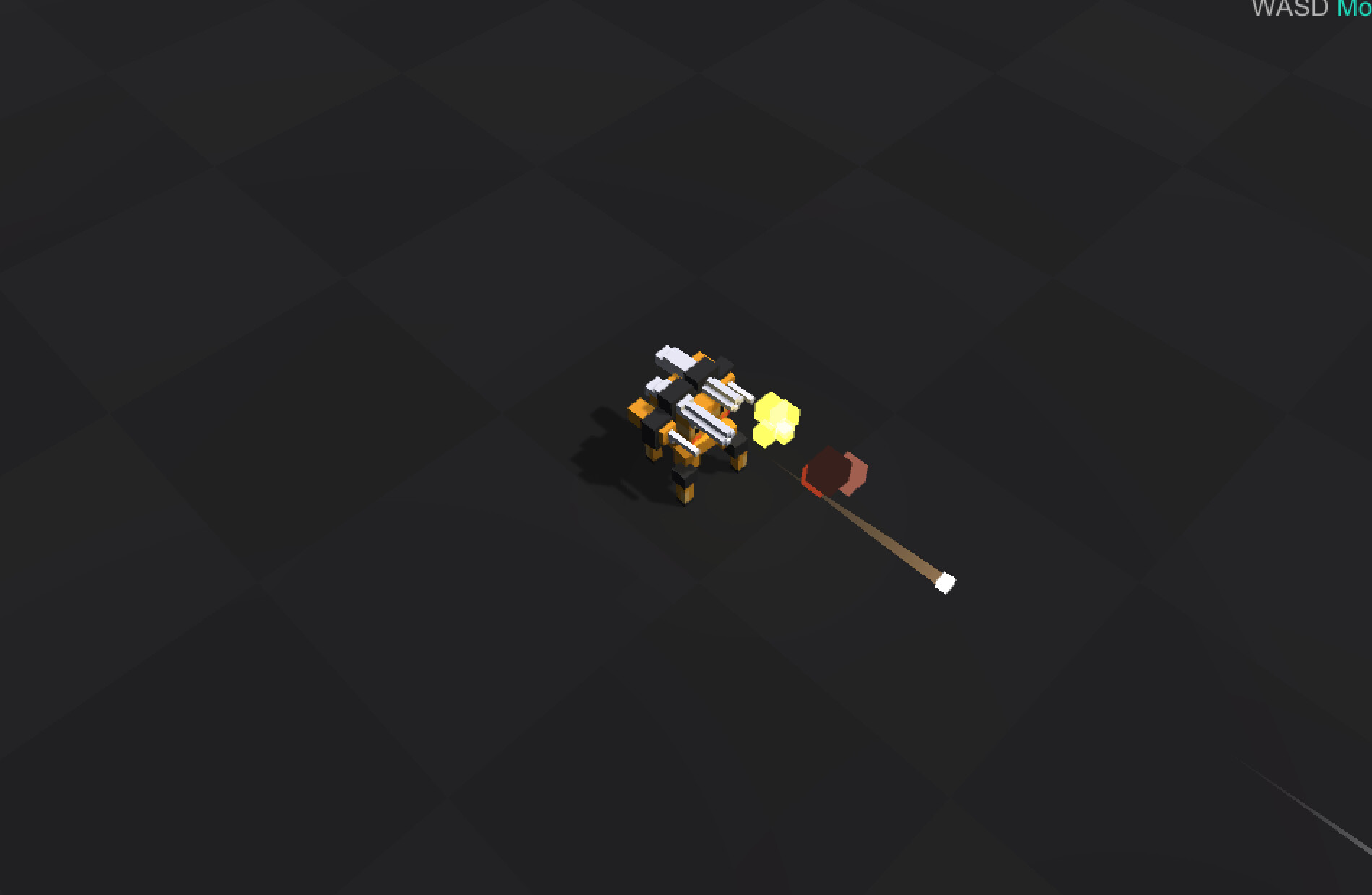 ArtStation - Voxel Robots, Mo Enen