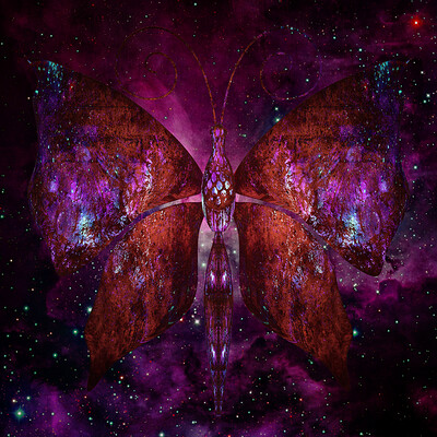 Vangelis choustoulakis cosmic butterfly