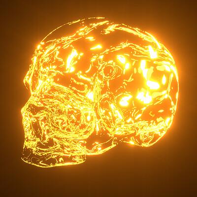 Andrii bakulin glowing skull sp5