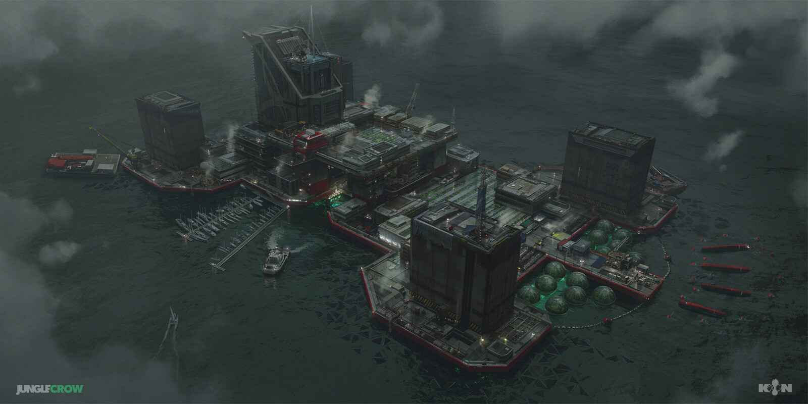 KキIンN - The Raft