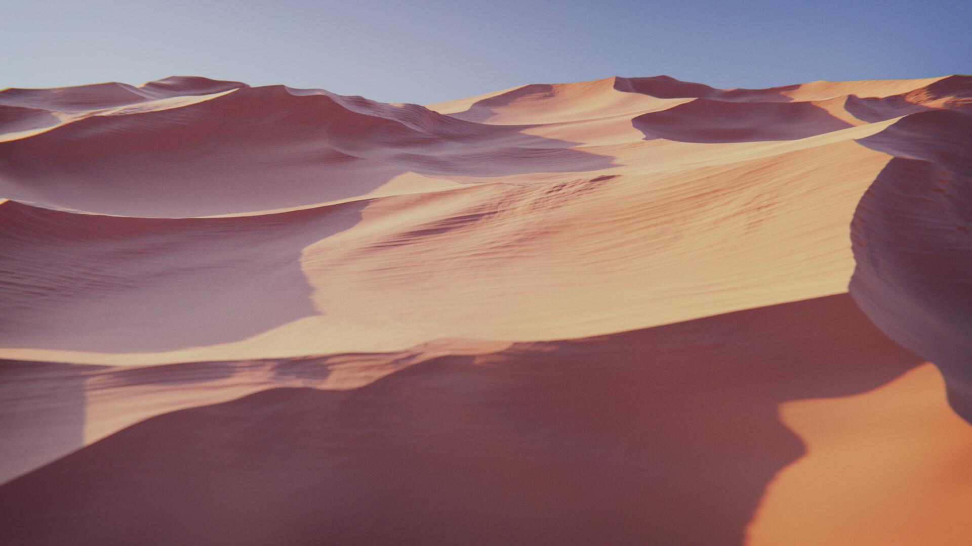 Sand Dune Render 01