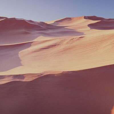 Sand Dune Blender Study