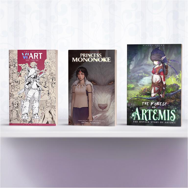 Viart studios cover book5b