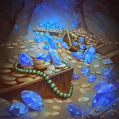 Nele diel sapphire treasure