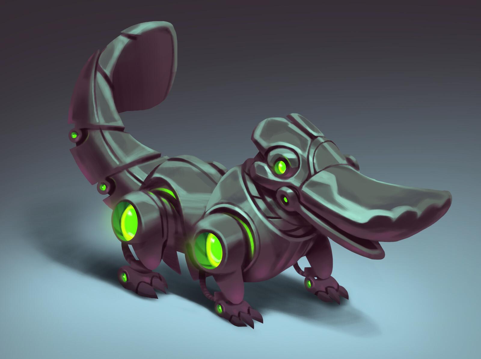 Mech Platypus - Sketch