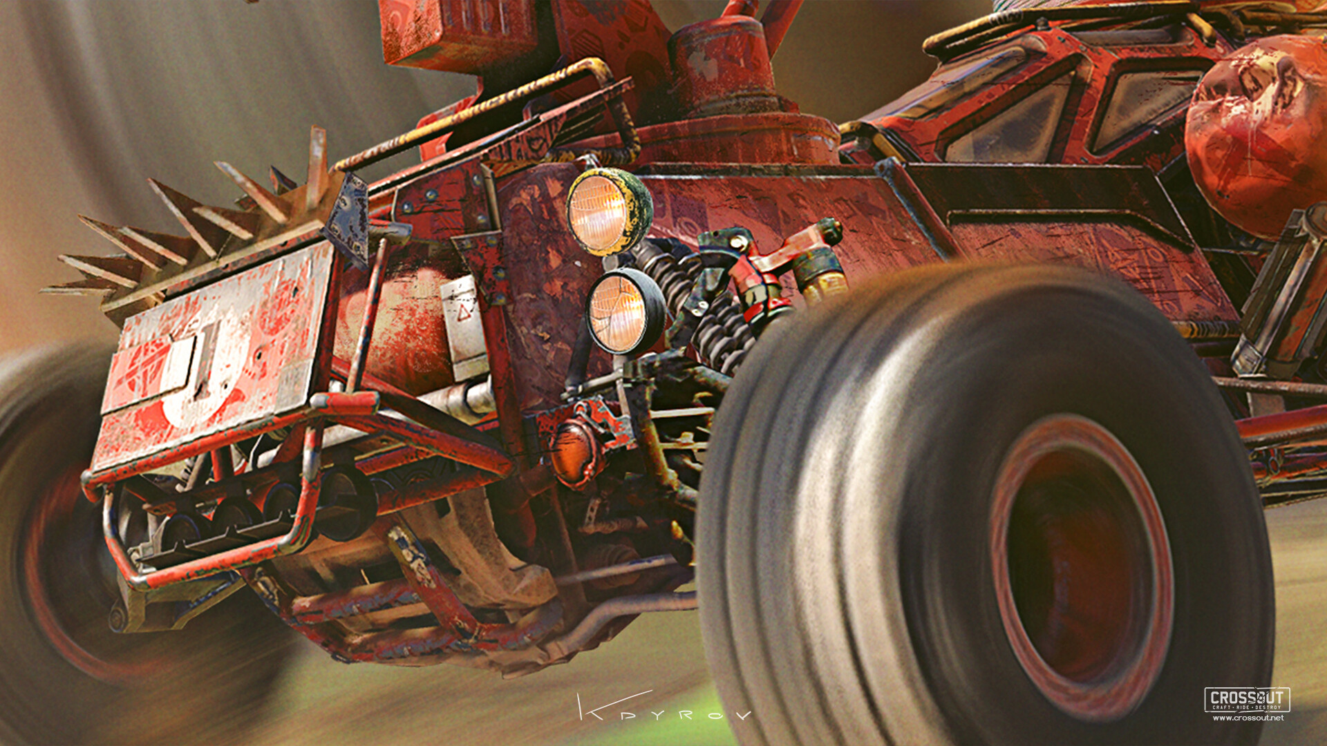 """ArtStation - Artwork for the event """"Wasteland Cup"""" for the"""