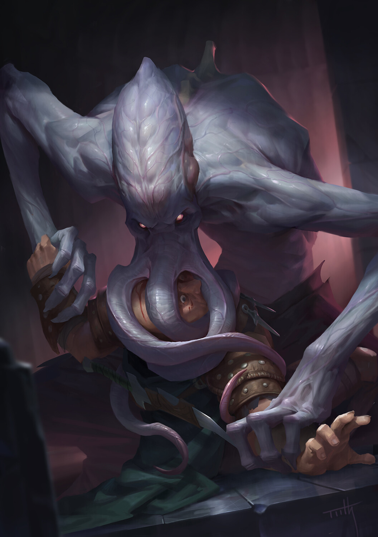 ArtStation - Mind Flayer, Tooth Wu