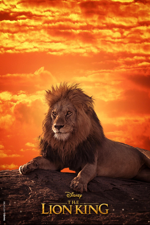 Rahell Artwork The Lion King Rahell Artwork