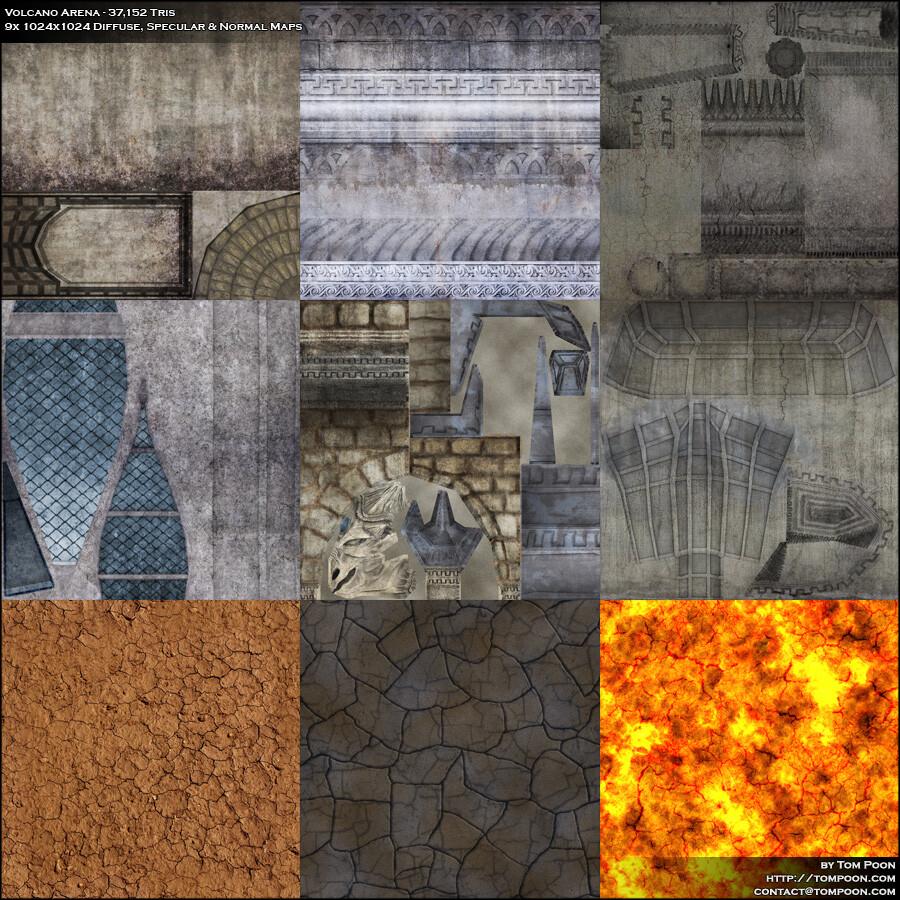 Tom poon volcano textures