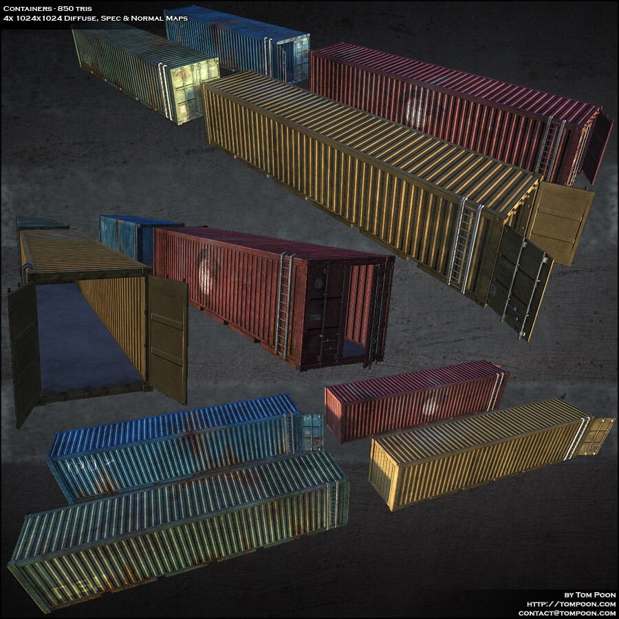 Tom poon m47 containers