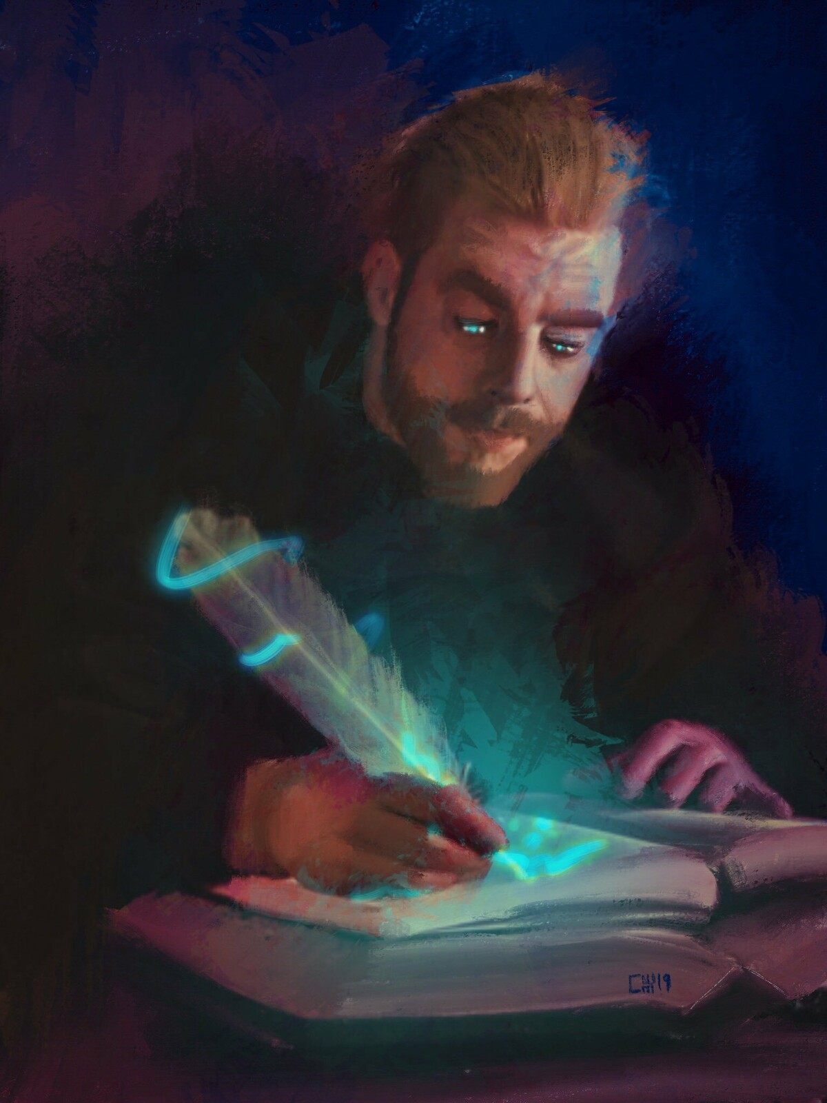 The Spell Scribe
