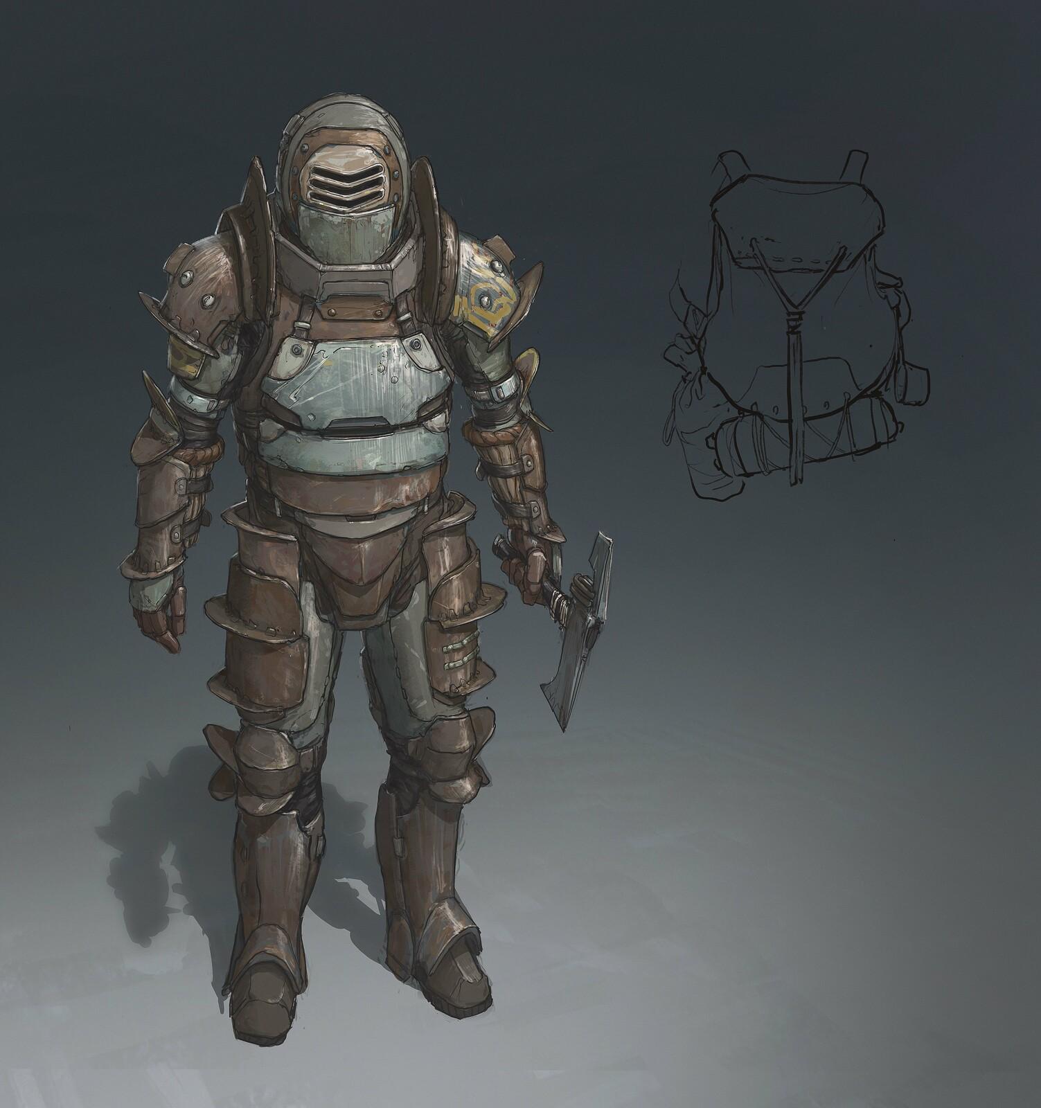 Leto's Armor