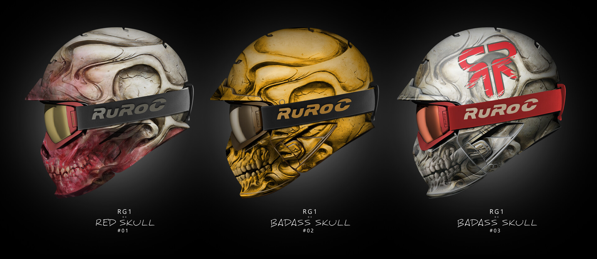 Pablo olivera ruroc bx ass skull 2